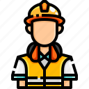 avatar, engineer, job, occupation, people, profession, worker icon