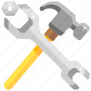 adjust, adjustable, nuts, tool, wrench, wrenches icon