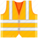 construction, lifejacket, lifesaver, security, vest icon