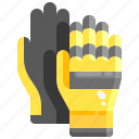 garden, glove, gloves, protection, safety, security, work icon