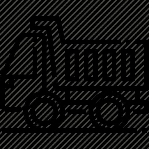 Garbage, garbagetrash, recycling, transportation, trash, truck, vehicle icon - Download on Iconfinder