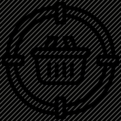 Behavior, business, consumer, finance, market, payment, target icon - Download on Iconfinder