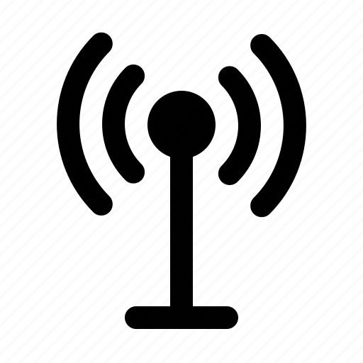 antenna, devices, electronics, products, technology icon