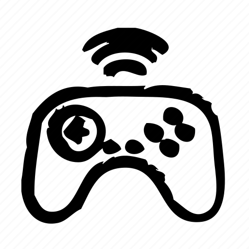 devices, electric, electronic, equipment, gamepad, hardware, wireless icon