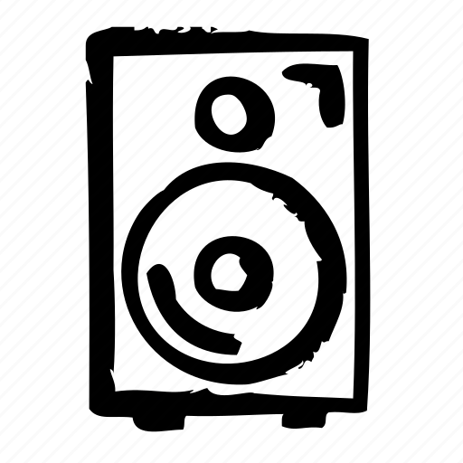 devices, electric, electronic, equipment, hardware, speaker icon