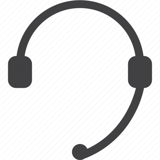 Call Center Contact Headset Icon