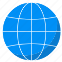 globe, internet, web, website, world icon