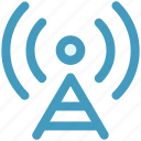 antenna, signals, wifi antenna, wifi signal, wifi tower icon