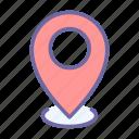 pointer, map, pin, marker, location, navigation