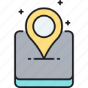 gps, local, location icon