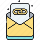chain, chain mail, mail icon