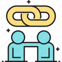 partner, partners, partnership icon
