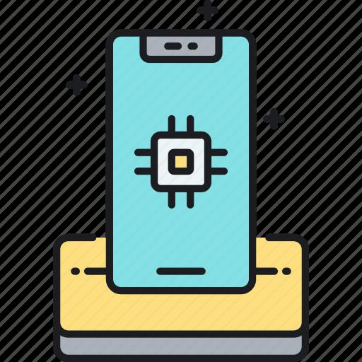 mobile, mobile phone, phone, smartphone icon
