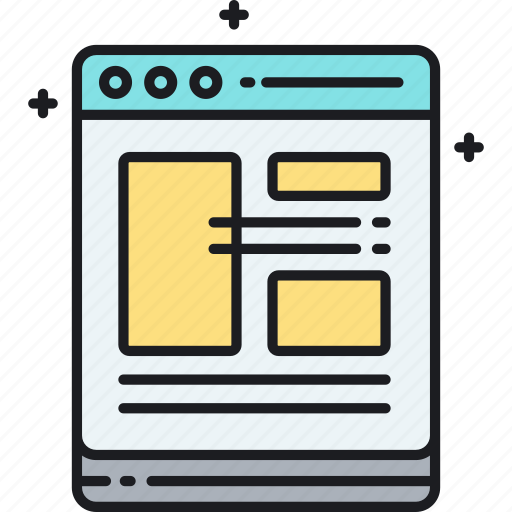 template, web, web page, website icon