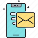 email, mail, message, text, text message icon