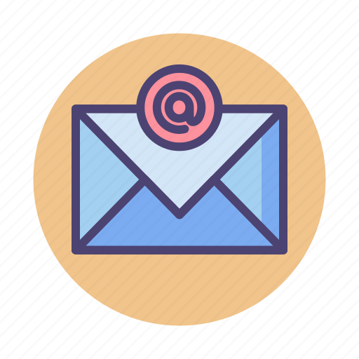 @, email, letter, mail icon - Download on Iconfinder