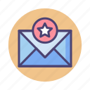 starred, email, starred email, important, important email, mail
