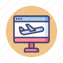 airline, flight, landing, landing page, page, website