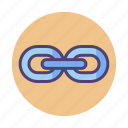 chain, hyperlink, link, link building, linkbuilding, linking, links icon