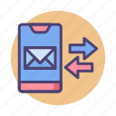 email thread, message conversation, message thread, messaging icon