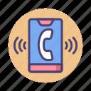 call, calling, loudspeaker, phone, ring, ringing, ringtone