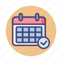 appointment, booking, calendar, event, schedule icon