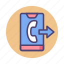 call, call forwarding, calling, forwarding call, phone call icon