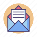 email, letter, mail, newsletter, subscribe, subscription icon