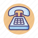landline, phone, telephone icon