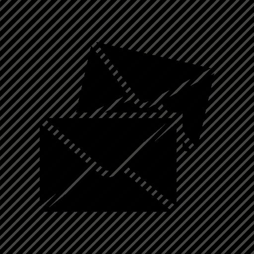envelope, inbox, letter, mails, messages icon