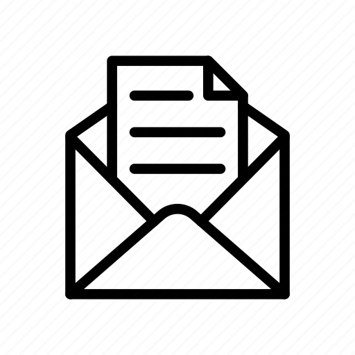 Envelope, letter, mail, message, open icon - Download on Iconfinder