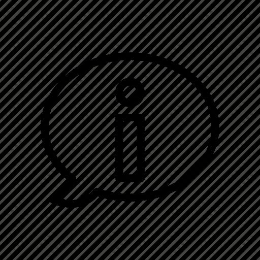 bubble, error, exclamation, notice, warning icon