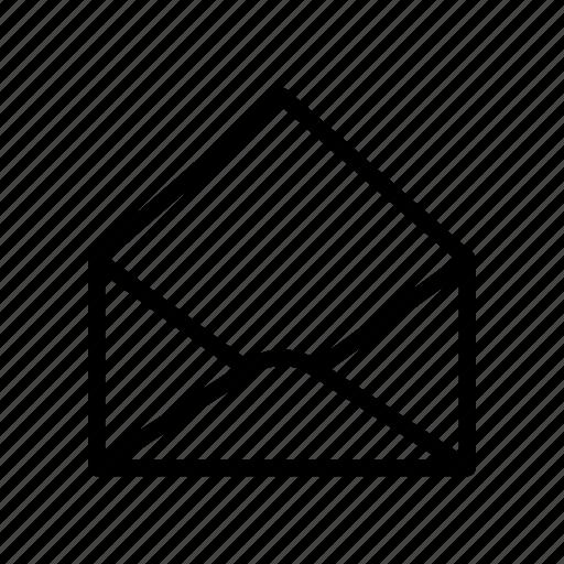 Envelope, letter, mail, message, open icon - Download on Iconfinder
