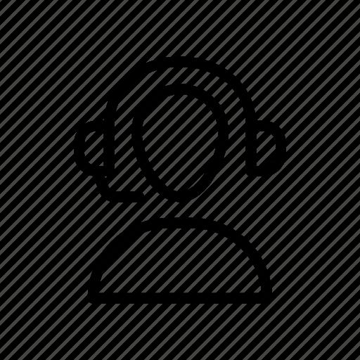 Customer, employee, helpline, services, support icon - Download on Iconfinder