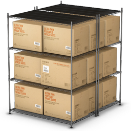 goods, palet, products, shelf, shipment, shipping, warehouse icon