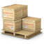 boxes, consol, palet icon