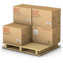 goods, palet, products, shipment, shipping, warehouse icon