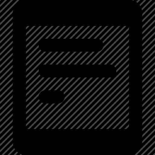 e, reader icon
