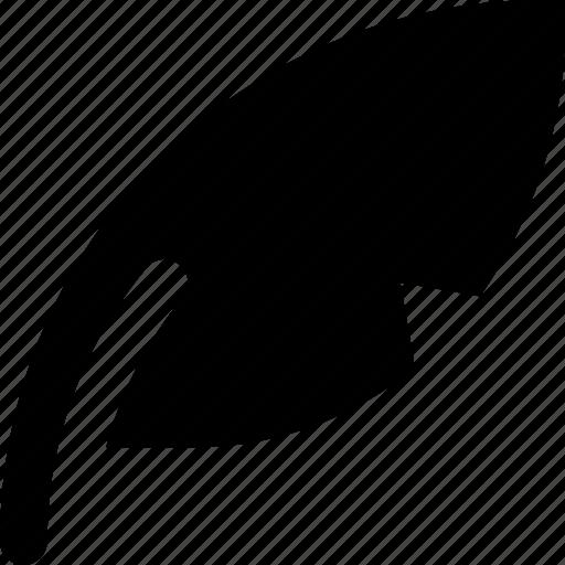 feather, pen icon