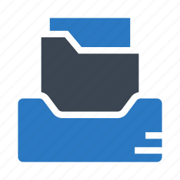 archive, cabinet, document, files, folder icon