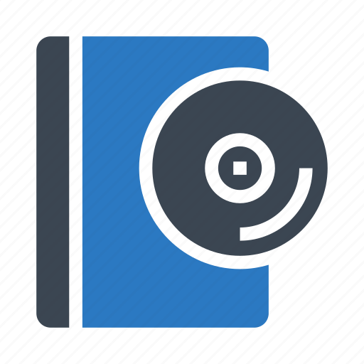 book, cd, dvd, education, knowledge icon
