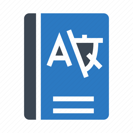 book, education, knowledge, language, school icon
