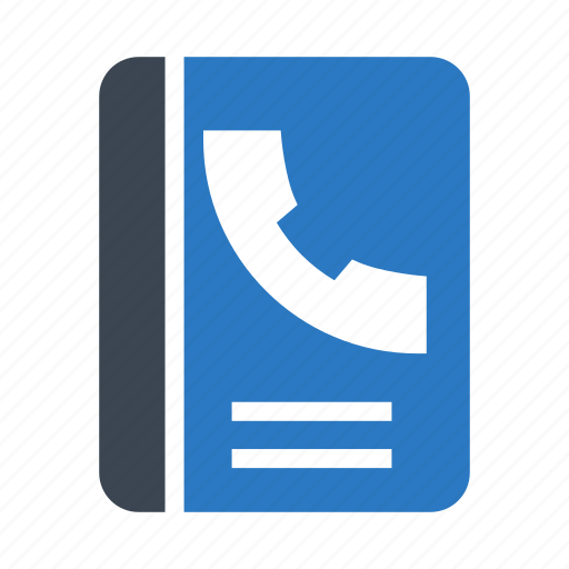 book, call, phone, reading, records icon