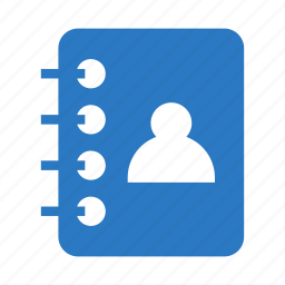 book, contact, content, education, knowledge icon