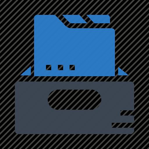 cabinet, document, drawer, files, folder icon