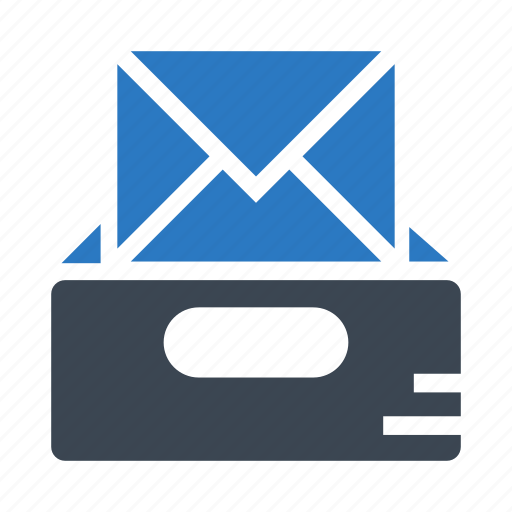 email, inbox, letter, mails, messages icon