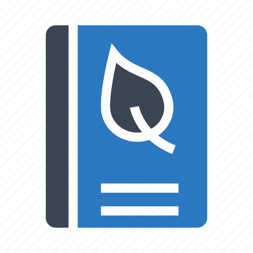 book, content, leaf, leaves, nature icon