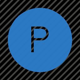 alphabet, parking, paste, reading, school icon