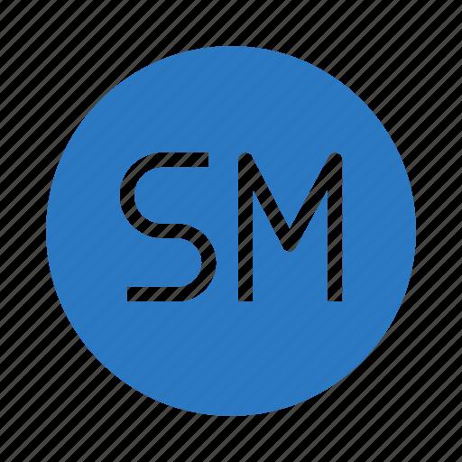 copy, legal, mark, rights, service icon