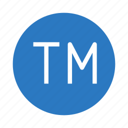 common, legal, registered, right, trademark icon